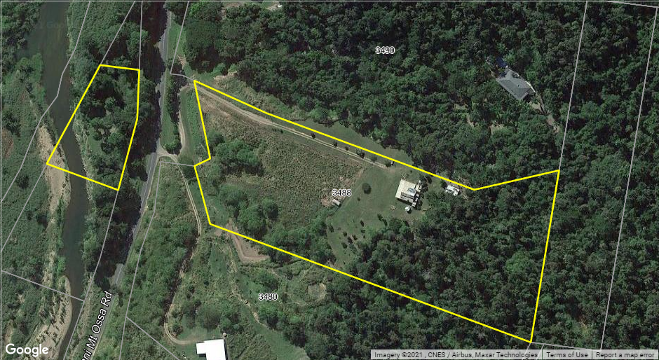 Read more about the article Awesome Mt Charlton – Mt Ossa rural – rare Murray creek frontage
